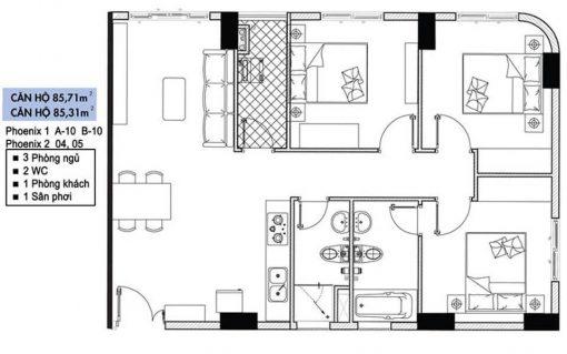 bán căn hộ topaz quận 8 tòa Phoenix 1